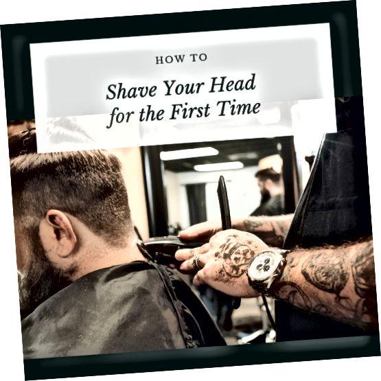 راهنمایی برای تراشیدن سر شما.
