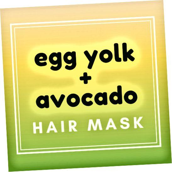 Зробіть живильну маску для волосся, що відновлює білок, з авокадо та яєчного жовтка. Ваше волосся буде відчувати себе м'якими і об'ємними протягом днів!