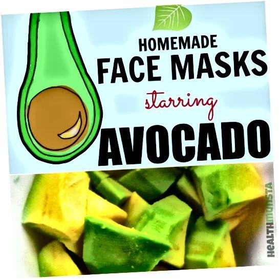 Залишився авокадо? Не кидайте його! Спробуйте ці дивовижні маски для обличчя з авокадо!