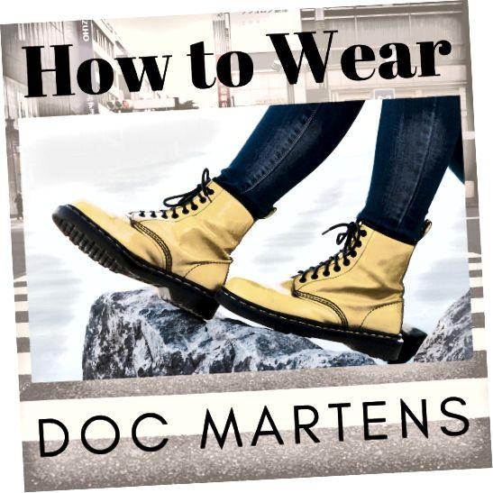 कैसे डॉक्टर मार्ट पहनने के लिए युक्तियाँ
