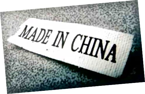 """Co jiného znamená štítek """"Vyrobeno v Číně""""?"""