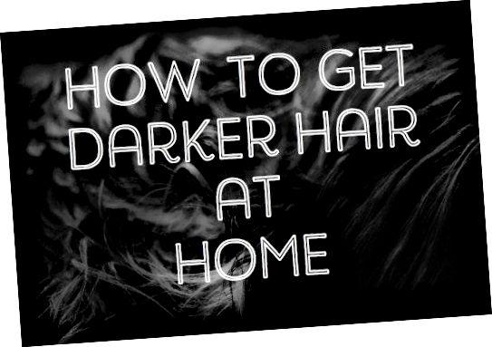Chcete si zatemnit vlasy bez poškození chemikálií nebo drahé návštěvy salonu? Naučte se, jak pomocí přírodních výrobků pro domácnost snadno zatemnit zámky.