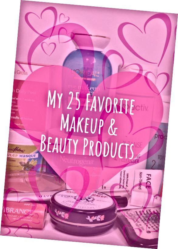 Moje 25 oblíbených výrobků pro líčení a krásu
