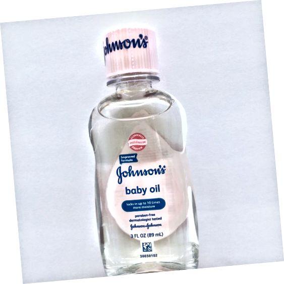 Johnsonův dětský olej