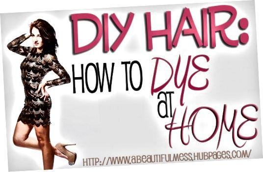 집에서 머리카락을 색칠하여 돈을 절약하는 방법에 대해 알아보십시오.