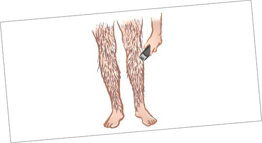 مرحله 2 - کوتاه کردن موها