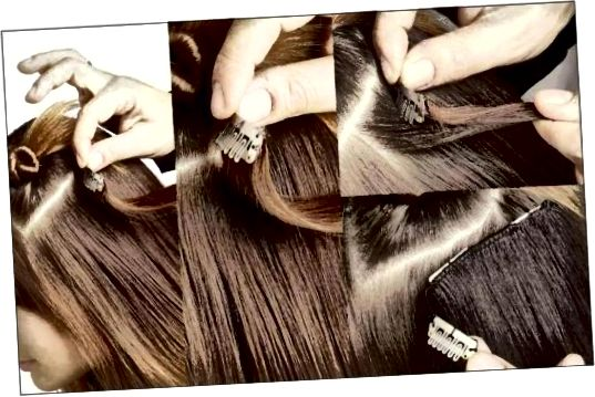 Clip-In Extensions مو