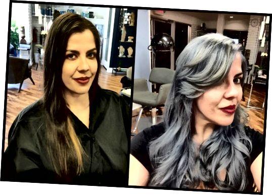 Meistara stilisti Les Bouska un Donna Harris no Atlanta Hair Studio sadarbojas, lai izveidotu Gaja Tanga filmas SilverMetallic dramatisko versiju. 8 stundu ilgā salona sesijā tumši, apstrādāti mati pārvēršas par mirgojošu sudraba sensāciju.