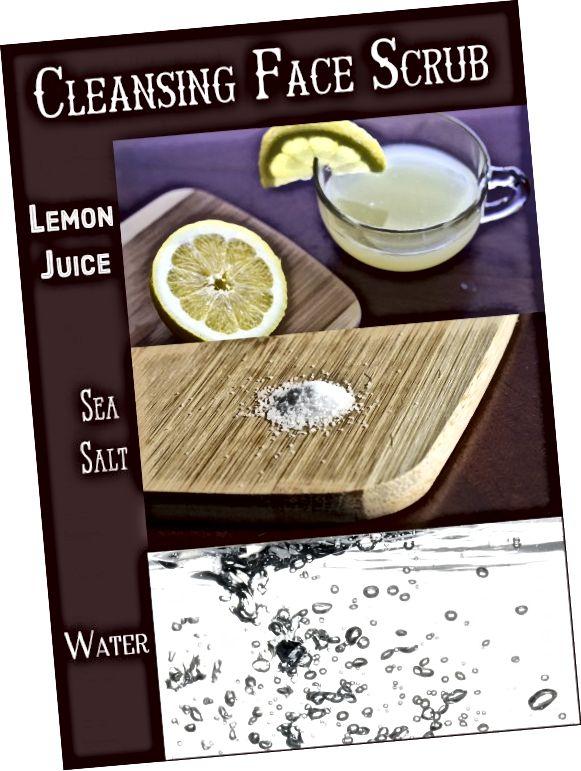 Χρησιμοποιήστε λεμόνι και θαλασσινό αλάτι για την απολέπιση και τη διάλυση των σπυρακιών στη μύτη, στα μάγουλα και σε άλλες περιοχές.