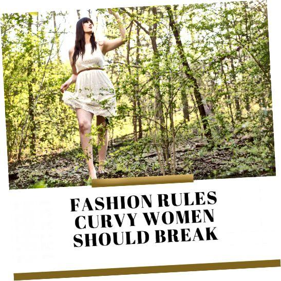 Nedovolte, aby vás tato módní pravidla držela zpátky!