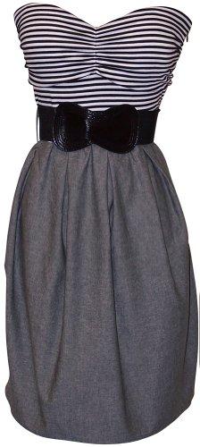 Nebojte se pruhů. Tyto perfektní letní šaty vytěží maximum z vašich krásných slečen.