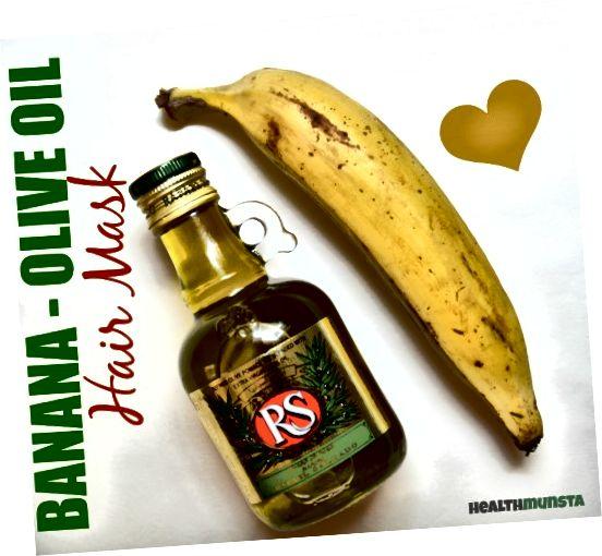 Маслиново уље није само сјајан регенератор, већ такође поправља оштећене оси за косу. Ова маска за косу од маслиновог уља од банане додаће сјај, волумен и свиленкастој коси!