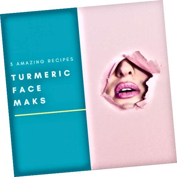 Kunyit adalah bahan perawatan kulit alami yang dapat dioleskan untuk kulit bercahaya!