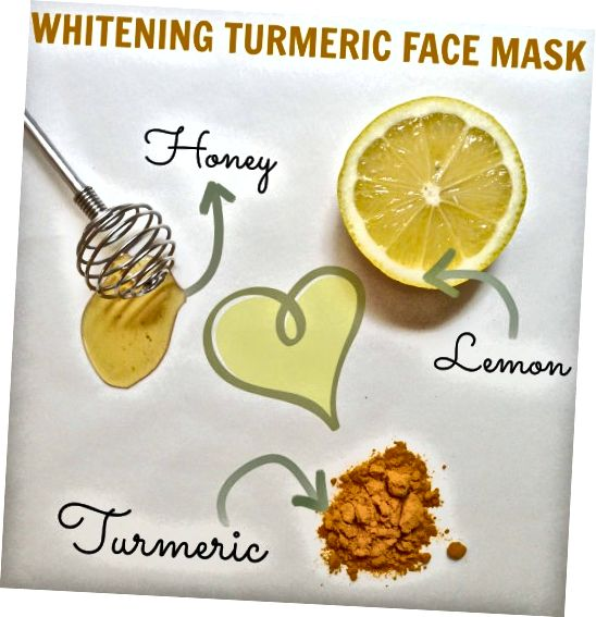 Masker wajah madu lemon kunyit ini bekerja sangat baik pada kulit berminyak.