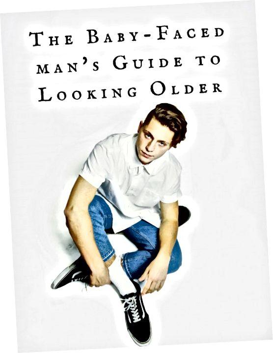 Od brody po masę na siłowni, oto kilka sposobów, w których faceci mogą wyglądać o kilka lat starsi niż ich wiek.