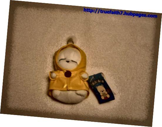 Vycpané kouzlo na klíčenka / mobilní telefon Mashimaro z Jižní Koreje. Toto se datuje od někdy na začátku 2000s.