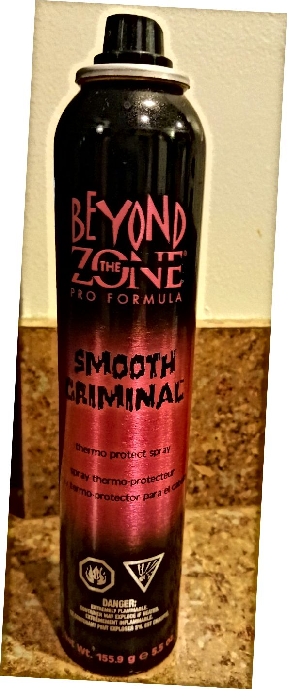Za zónou Smooth Criminal Thermo Protect Spray