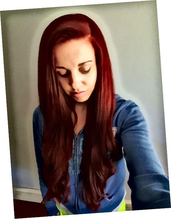 내 빨간 머리.