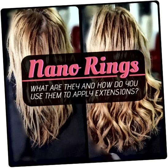 Οι νανο δακτύλιοι είναι η πιο διακριτική και μακράς διάρκειας μέθοδος επέκτασης μαλλιών στην αγορά. Μάθετε πώς να τα κάνετε να λειτουργούν για εσάς!
