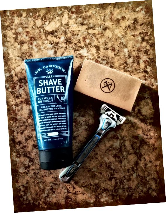 Dollar Shave Club ass eng super, budgetfrëndlech Optioun.