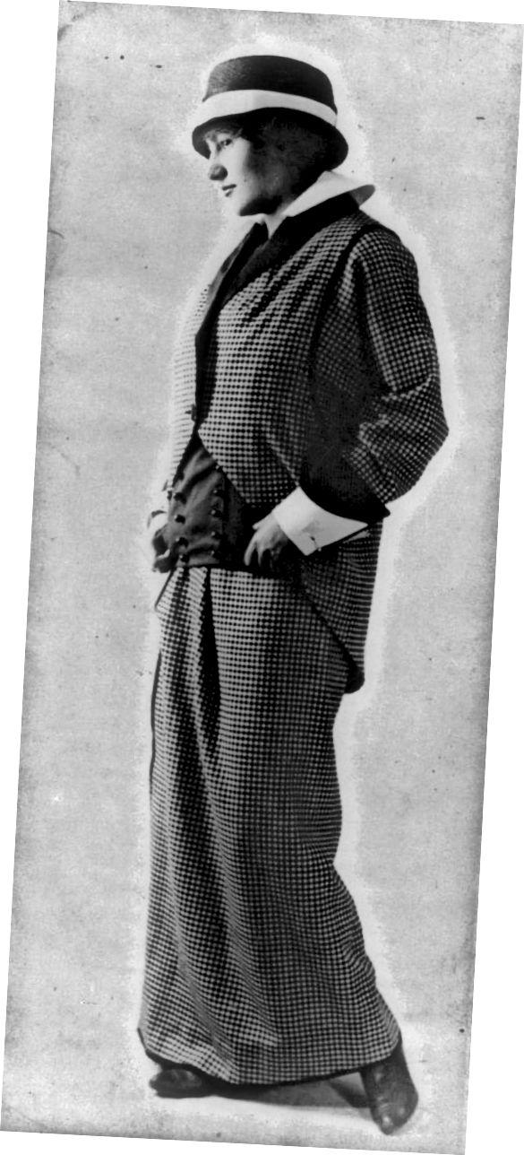 पॉल पॉयरेट 1914 द्वारा एडवर्डियन सूट