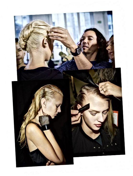 Παρασκήνια στην Εβδομάδα Μόδας του Παρισιού Άνοιξη / Καλοκαίρι 2014
