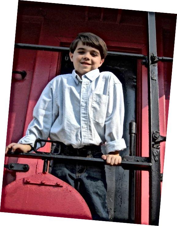 Ionuț se bucura de participanții când era puțin mai tânăr!
