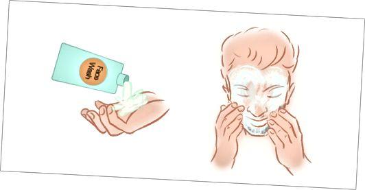 Krok 2 - Vyčistěte si obličej