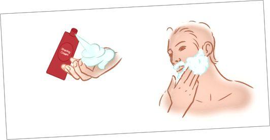 Krok 4 - Naneste krém na holení