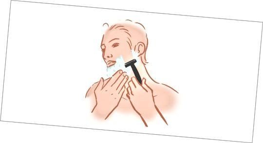 Krok 5 - Zahajte holení