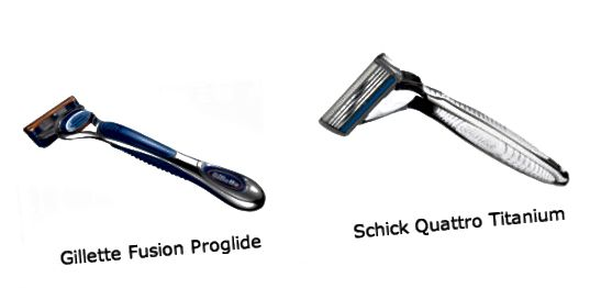 Gillette vs. Schick