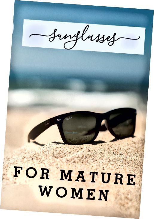 Výběr slunečních brýlí pro zralé ženy