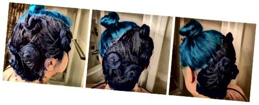 در اینجا نحوه استفاده از موهای خود را اگر می خواهید یک سبك مقطع مورب مانند من انجام دهید ، در اینجا آورده شده است.