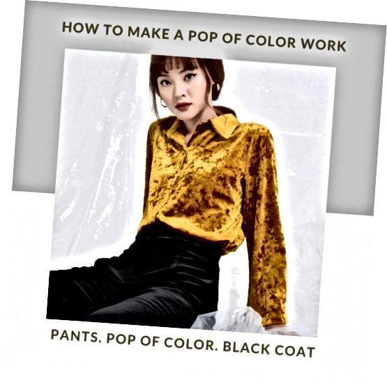 Kleur is ok zolang het smaakvol wordt gebruikt.