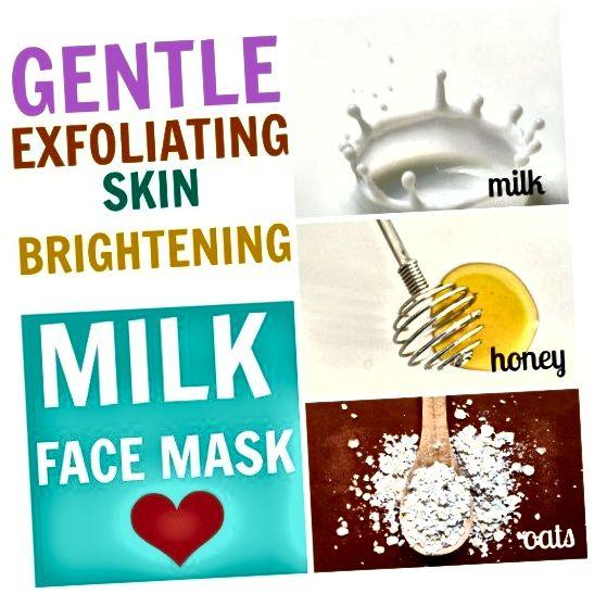 წაისვით რძის სახის ნიღბით, რომელიც შეიცავს თაფლს და შვრია, რომ გამოავლინოს ნათელი, ლამაზი და მბზინავი კანი.