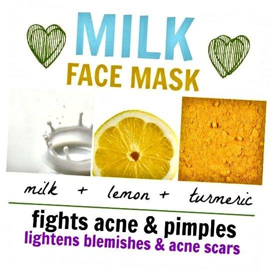ეს რძის სახის ნიღაბი სასარგებლოა გამონაყარისა და პირმშოების გასასუფთავებლად, ასევე ლაქების შესამცირებლად.