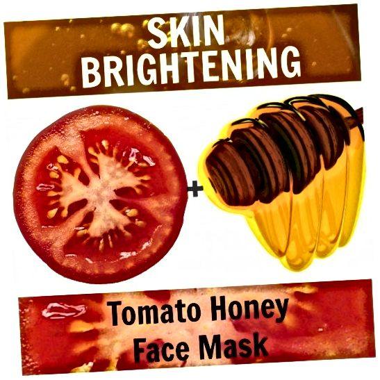Chcesz rozjaśnić skórę i sprawić, by była bez skazy? Regularnie używaj odżywczej maseczki z miodem pomidorowym.