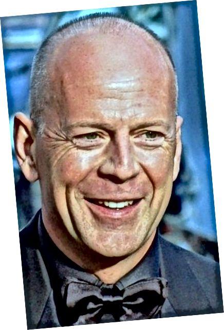 Bruce Willis wygląda świetnie bez włosów.