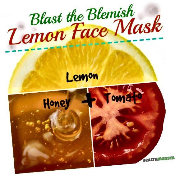 Maska miodowa, pomidorowa i cytrynowa rozjaśni wszelkie niedoskonałości.