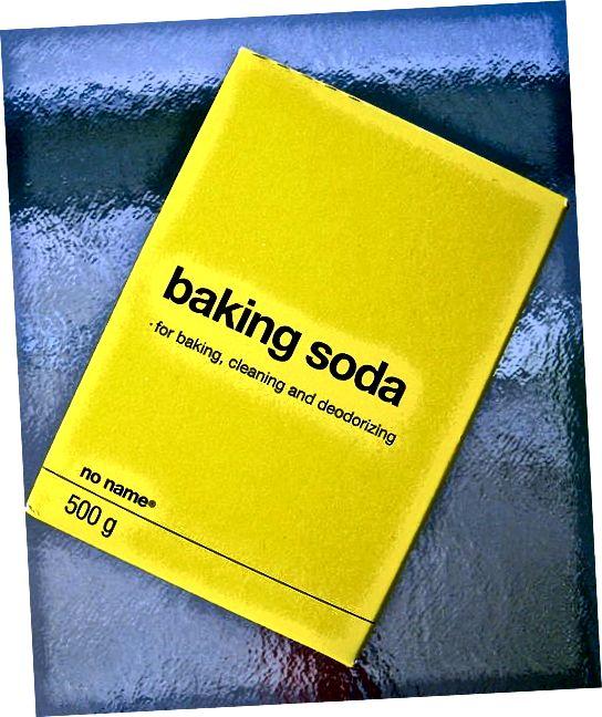 बेकिंग सोडा का चयन करते समय, कोई नाम ब्रांड और अन्य लोगों से बचें, जिनमें एल्यूमीनियम होता है।