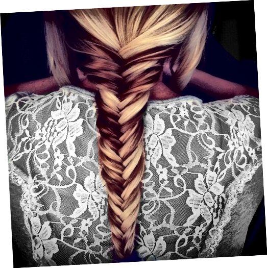 Τα πολύχρωμα μαλλιά μπορούν να φαίνονται όμορφα και τα έχετε μόνο με υψηλά και χαμηλά φώτα.