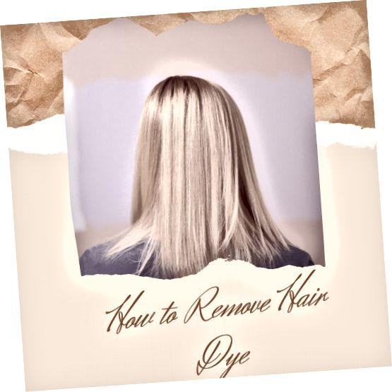 Εάν προσπαθείτε να αλλάξετε την εμφάνισή σας, το βάψιμο των μαλλιών σας είναι ένας από τους πιο γρήγορους τρόπους, αλλά η αφαίρεση μπορεί να είναι δύσκολη.