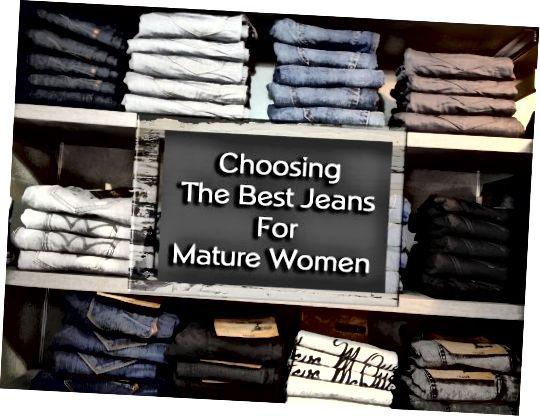 بهترین شلوار جین برای زنان بالغ