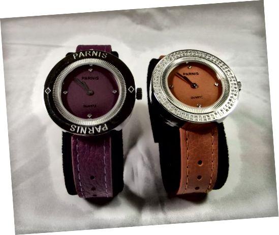 Jam tangan wanita kuarsa Parnis 33mm