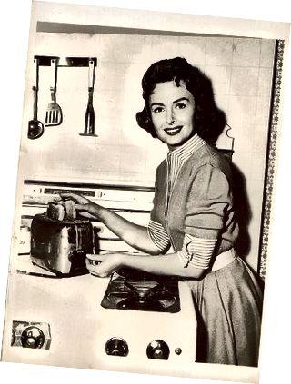 Η Donna Reed έγραψε μια κομψή νοικοκυρά της δεκαετίας του '50.