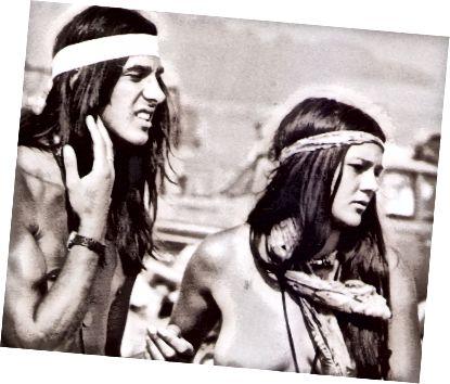 Η ειρήνη, η ελεύθερη αγάπη και τα μακριά μαλλιά ήταν ο τρόπος ζωής των hippie.