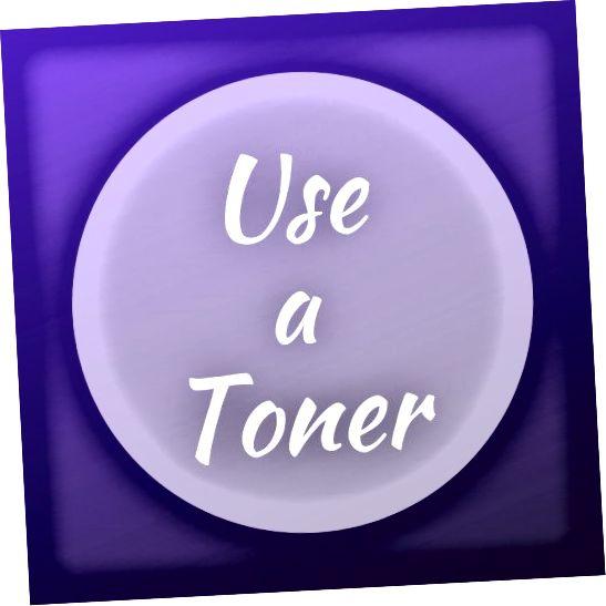एक टोनर का उपयोग करने से आपकी जड़ों में नारंगी को रद्द कर दिया जाएगा।