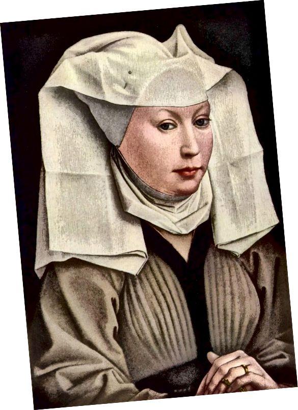 Wimple - շուրջ 1430