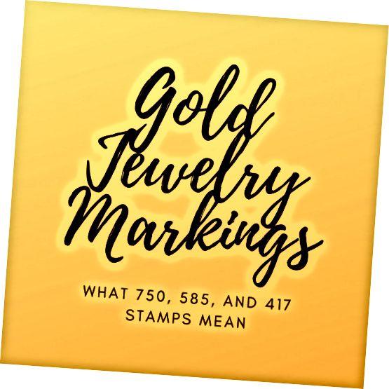 Ի՞նչ են նշանակում ոսկե զարդերի գծանշաններ: