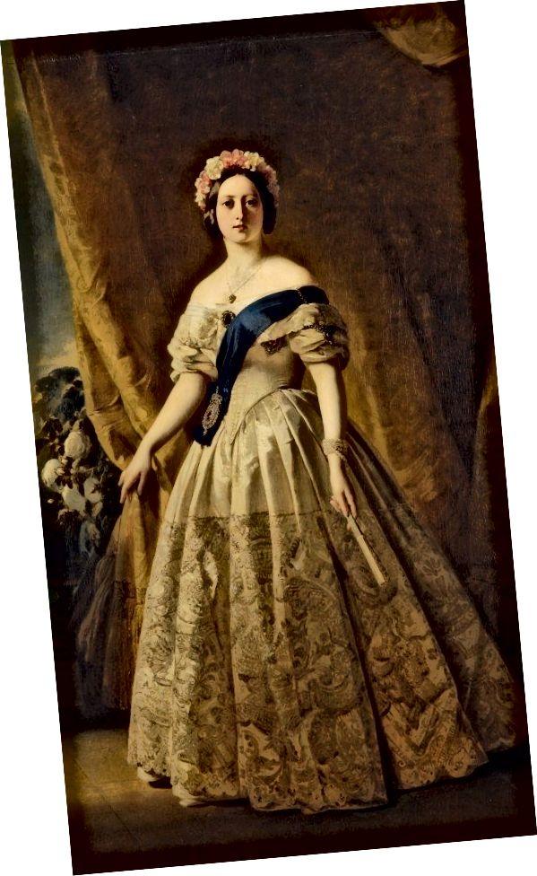Královna Viktorie 1845Portrait od Franze Xaver Winterhaltera